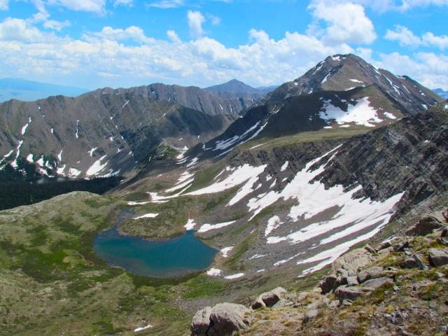 Horseshoe Lake/Eureka Mountain