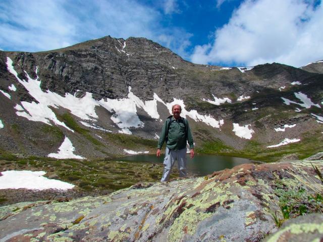 David under Hermit Peak
