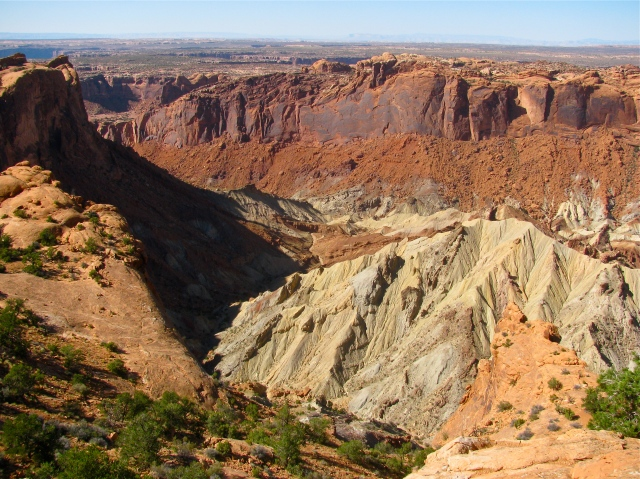 Upheaval Dome Valley